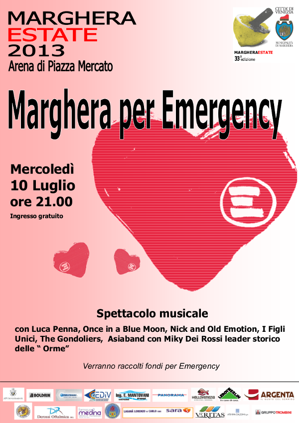 Marghera estate Emergency